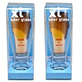 DCI XL Glass-Beer-Pack of Two
