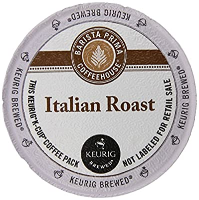 Barista Prima Dark Roast Extra Bold Coffee K-Cup, Italian Roast, 96 Count from Barista Prima