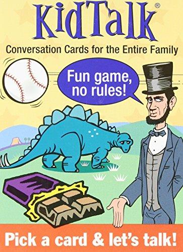 Kidtalk Conversation Cards (Tabletalk Conversation Cards)