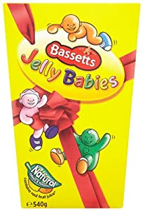 Bassetts Jelly Babies Carton 540 g (Pack of 3)