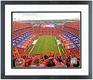 Denver Broncos Sports Authority Field at Mile High Stadium 2013 Photo 13 x 16 Framed by NFL