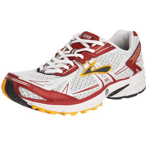 Brooks Men's Ravenna Running Shoe White/Red/Yellow 8 UK