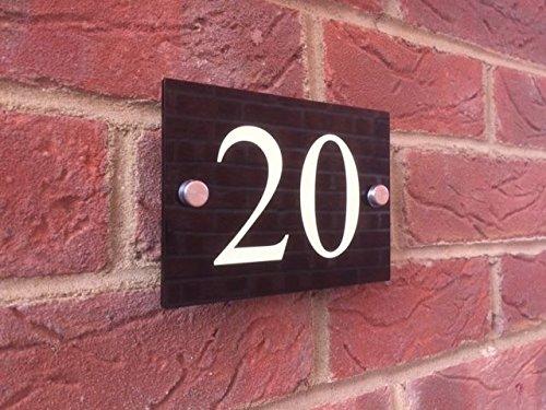 illuminous-moderne-maison-plaque-numero-de-porte-noir-brillant