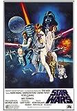 Empire 210784 Star Wars - Orange Sword Of Darth Vad - Poster Druck - 61 x 91.5 cm