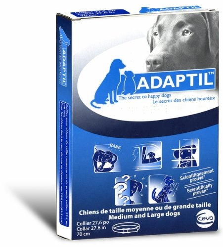 Adaptil, D.A.P (Dog Appeasing Pheromone) Collar for Medium to Large Dogs - 27.6&quot;