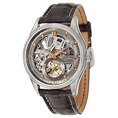 Armand Nicolet LS8 Men's Manual Watch 9620S-GL-P713GR2