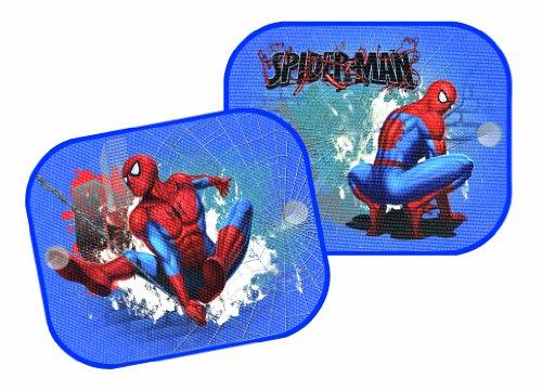 Spiderman 10010 - Spiderman Sonnenschutz für Auto (Paar) 36x45 cm