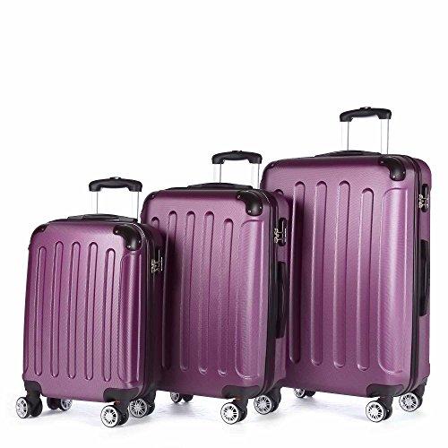 BEIBYE , Set di valigie , lilla (Viola) - LG2033