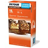 Detour Lower Sugar Protein Bar - Variety Pack - 1.5 Oz, 20 Count