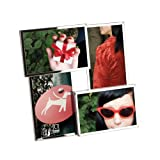 Umbra Flo Metal Multi Photo Frame, Chrome
