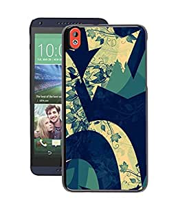 Crazymonk Instyler Digital Printed Back Cover For Htc 826