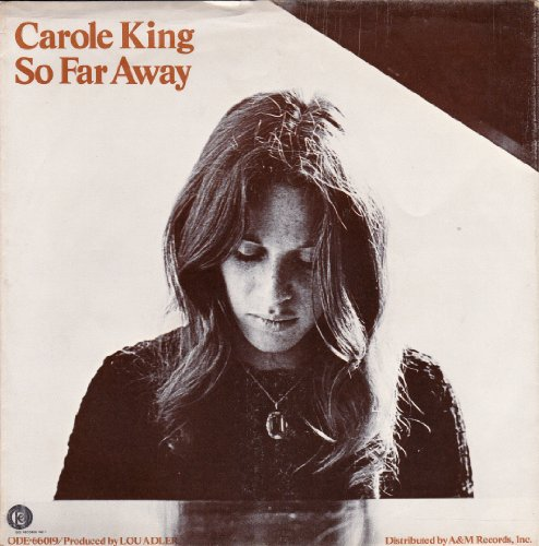So Far Away (7 PICTURE SLEEVE ONLY) by Carole King