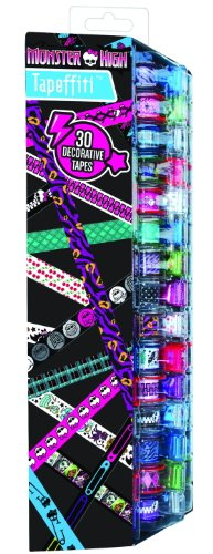 Monster High Tapeffiti Caddy - 30 Piece - 1