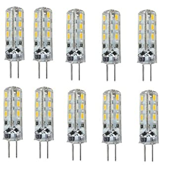 elinkume 10 stk g4 led 24 smd 3014 warmweiss. Black Bedroom Furniture Sets. Home Design Ideas