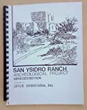 img - for San Ysidro Ranch Archeological Project Abridged Edition book / textbook / text book