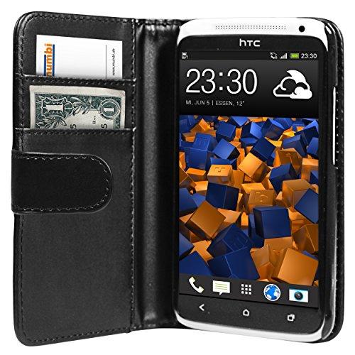 mumbi Tasche HTC One X X+ Tasche Hülle - Tasche HTC One X Hülle im Bookstyle