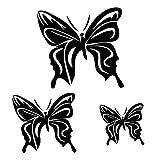Sticker-autocollant-3-papillons-pour-votre-auto-votre-frigo-vos-murs-couleur-noir