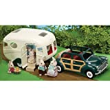 Sylvanian Families The Caravan And Family Car