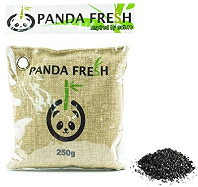 Bamboo Charcoal Remove Odors Naturally with Activated Air Purifying Moisture Removing 250g Bag Non Toxic & Chemical Free + REUSABLE FOR 2 YEARS !