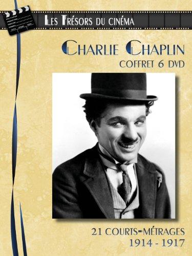 Charlie Chaplin - Coffret 6 DVD : 21 courts-métrages (1914-1917)