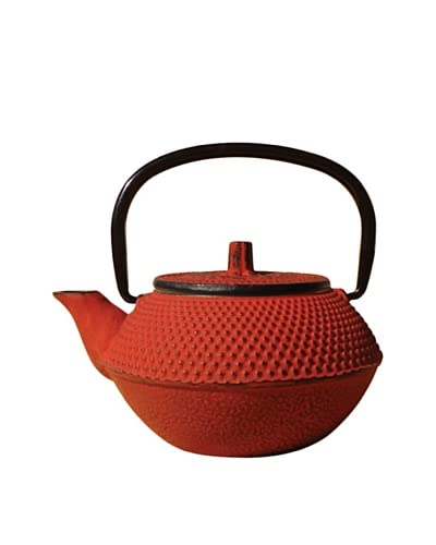"Old Dutch ""Tokyo"" 11-Oz. Cast Iron Teapot, Red"
