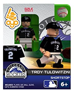 Troy Tulowitzki 2013 Generation 2 Oyo Mini Figure Colorado Rockies by OYO