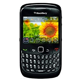 BlackBerry Curve 8520 Phone, Frost (T-Mobile)
