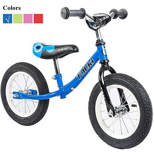 Find Discount Tauki® Balance Bike No Pedal Training Bike for for Toddlers, 12 inch, Red/Blue/Pink/L...