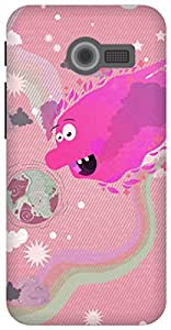 The Racoon Grip Sun Monsters hard plastic printed back case/cover for Asus Zenfone 4 A400CG