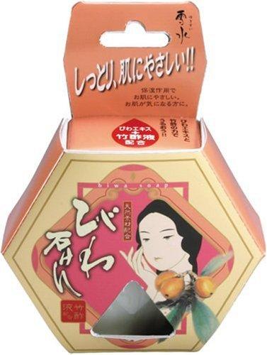 日本漢方 びわ石けん 100g