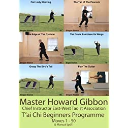 Tai Chi Beginners Programme