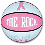 Anaconda Sports® The Rock® MG-4300LRB Fight Against Cancer Pink Rubber Ball Women's Basketball