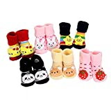 #7: EIO™ New Born Baby Socks cum shoes - 2 Pair set Free Delivery