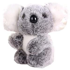 """Toy House Toy House Toyhouse 5"""" Mini Koala Bear Stuffed Plush Toy Gray"""