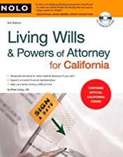Living Wills and Powers of Attorney for California by Irving
