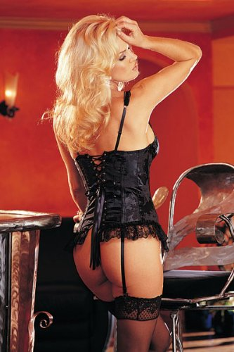 Shirley Of Hollywood Long-Line Bustier