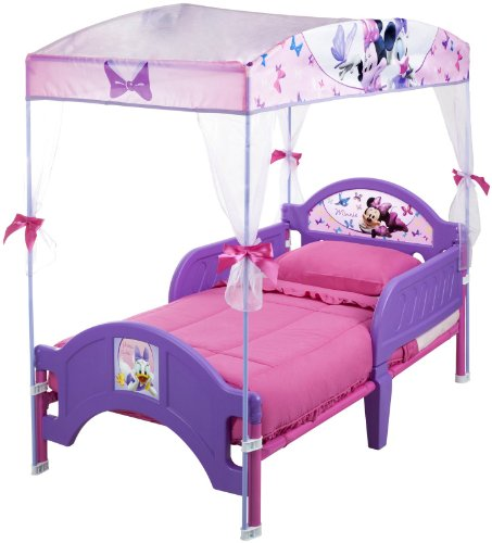 Delta Children's Products Minnie Mouse Canopy Toddler Bed - 1