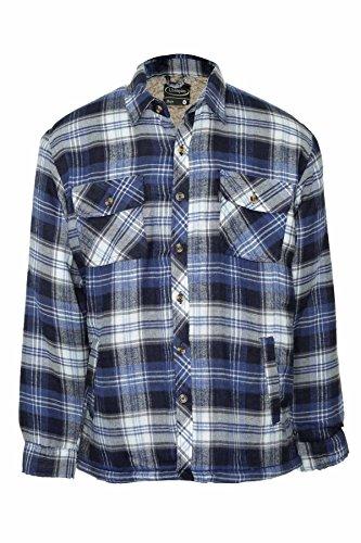 mens-champion-skye-warm-sherpa-fleece-lined-padded-lumberjack-winter-shirt