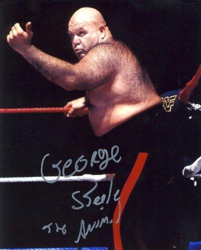 George The Animal Steele - Autographed WWE Wrestling 8x10 Photo