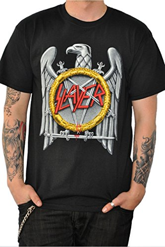 Slayer -  T-shirt - Uomo nero L