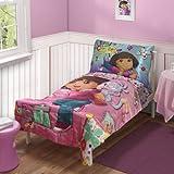 Dora the Explorer Toddler Bedding Set (Discontinued by Manufacturer)