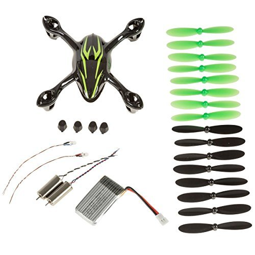 Hubsan Crash Pack for X4 H107C Quadcopter, Includes Body Shell, 8x Pair