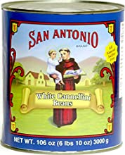 All Natural Italian Cannellini Beans 6 lb 10 oz Can