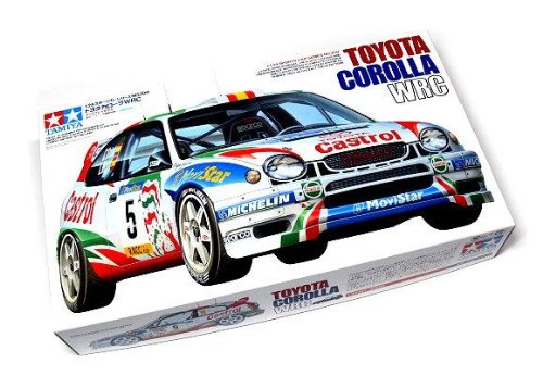 Tamiya Automotive Model 1/24 Car Toyota Corolla Wrc Scale Hobby 24209 With Rcecho Full Version Apps Edition