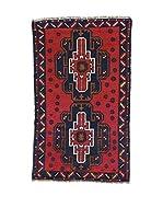 L'Eden del Tappeto Alfombra Beluchistan Rojo / Azul Oscuro 143  x  87 cm