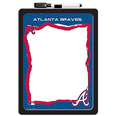 C.R. Gibson Dry Erase Board with Marker, Atlanta Braves (M902978WM)