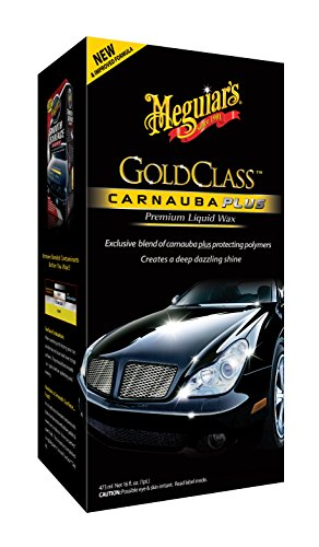 Meguiars Gold Class Liquid Wax Autowachs, 473ml