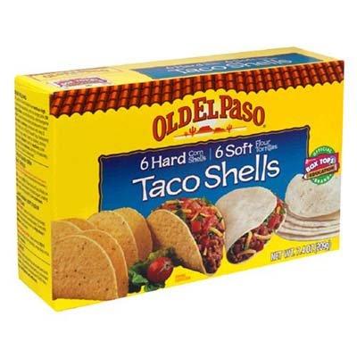 Old El Paso Hard & Soft Taco Dinner Kit 11.4 oz (Pack of 12)