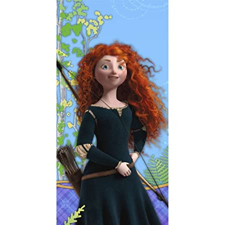 This Disney's Brave Tablecover measures 54 inches wide x 102 inches long.