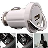 CAR CHARGER USB ADAPTOR IPOD NANO / TOUCH / IPHONE 3G 3G S 3GS / IPHONE 4 / IPAD / TOUCH 2 / TOUCH 3 / TOUCH 4 PART OF THE QUBITS ACCESSORIES RANGE